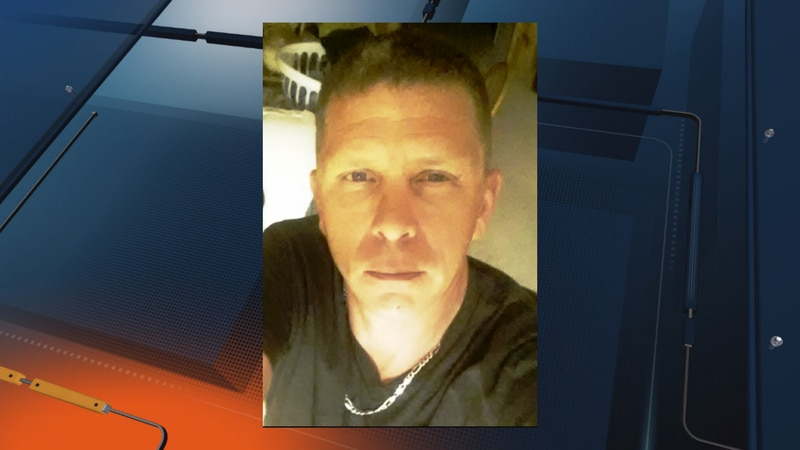 48-year-old Kevin Michael Daley has blond hair, blue eyes, is 6' tall and weighs 190 pounds.