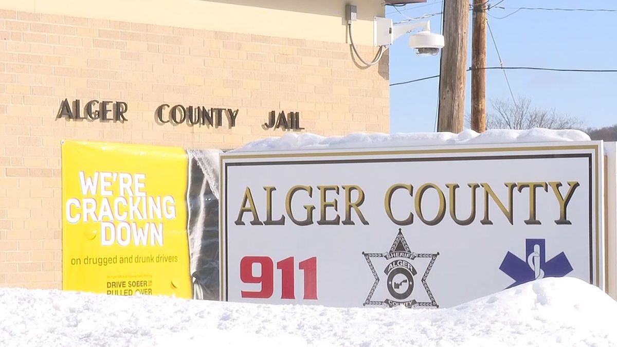 Alger County Sheriff's Office, Alger County Jail. (WLUC Photo)