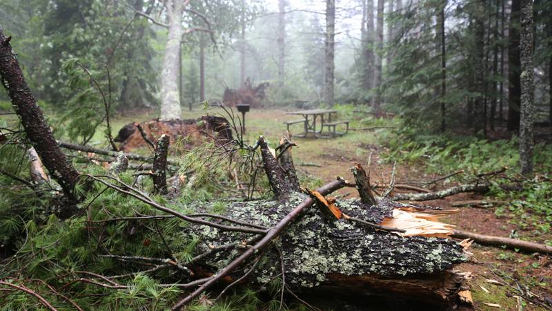 The July 14, 2021, storm event caused significant damage at the Indian River Campground in the...