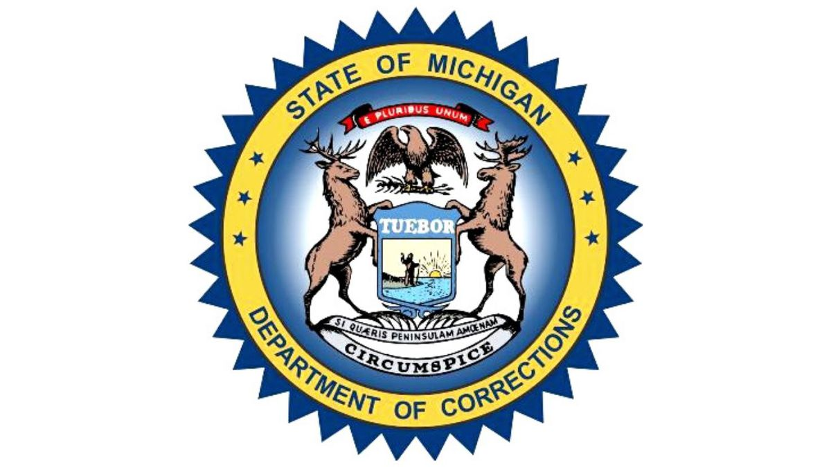 Michigan Department of Corrections logo. (MDOC Graphic)