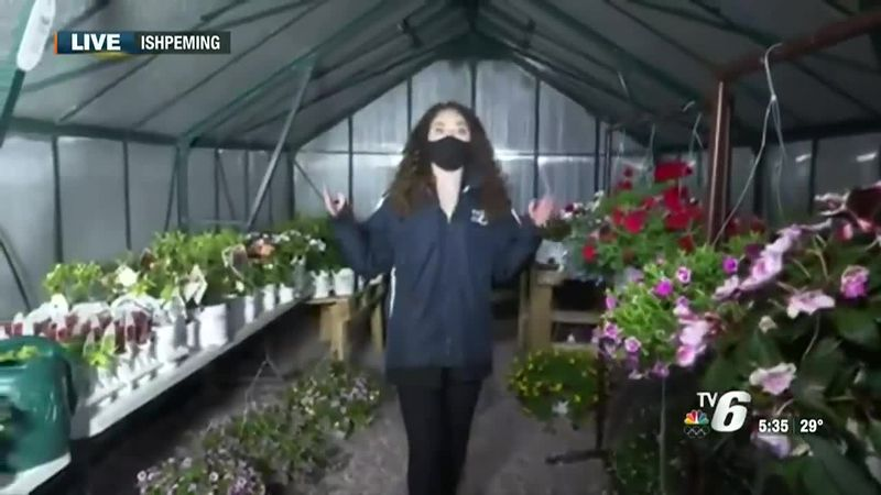 New plant shop and greenhouse in Ishpeming.