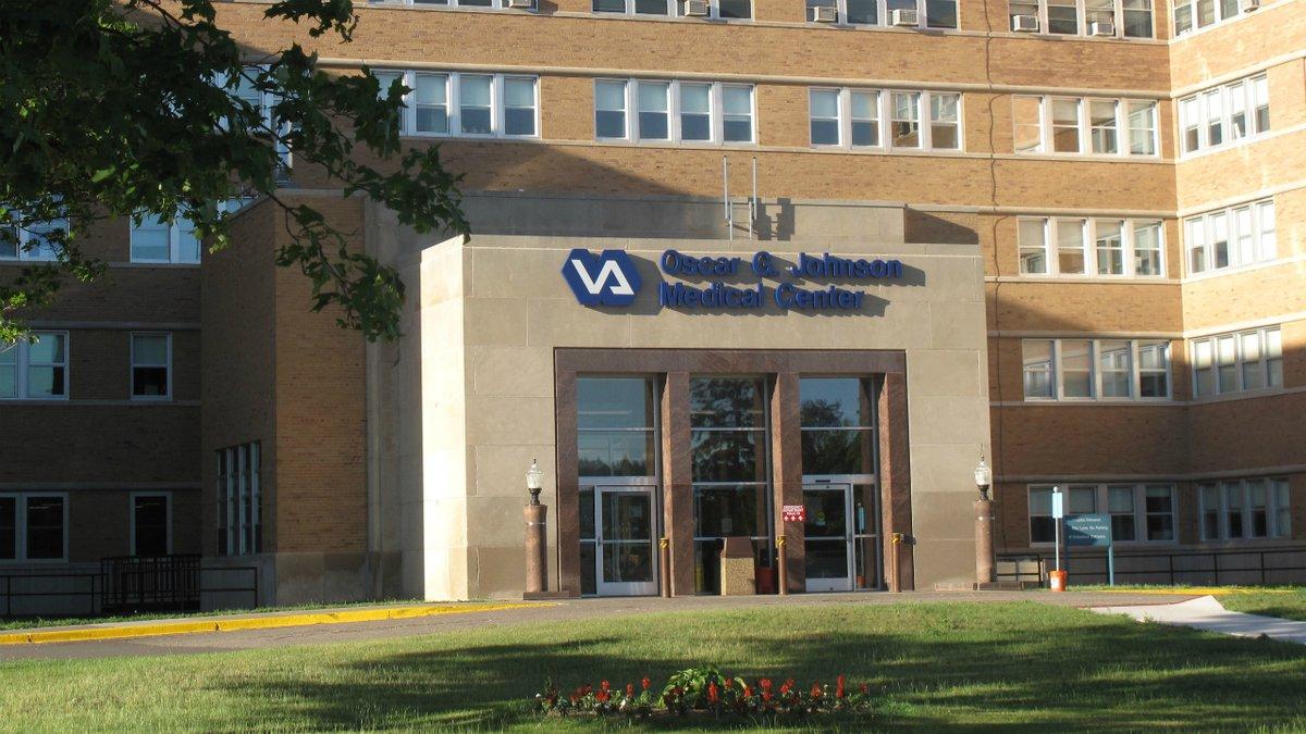 FILE. Oscar G. Johnson VA Medical Center in Iron Mountain.