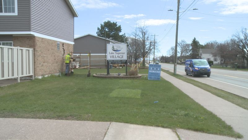 Lake Superior Village's 116 income-based homes are getting a new look, inside and out.