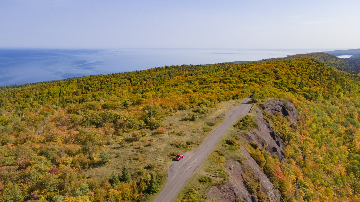 Brockway Mountain was named as the Best Place to Take in Fall Colors in Lake Superior...