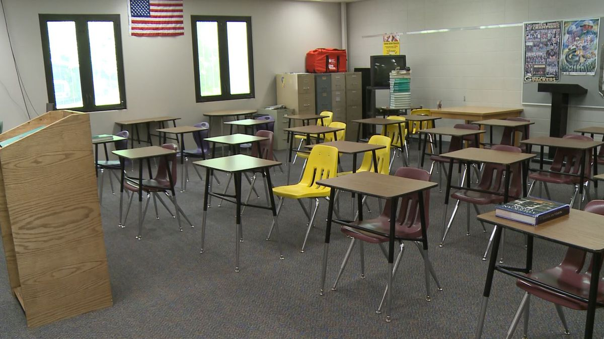 A classroom in Niagara schools. (WLUC Photo)