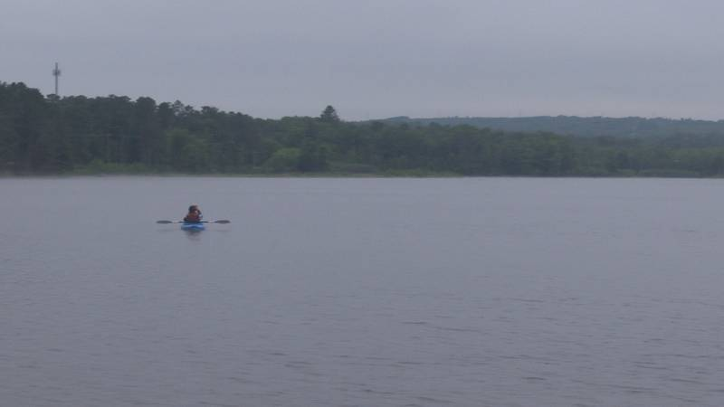 Kayaking with Marquette Recreational Tours.