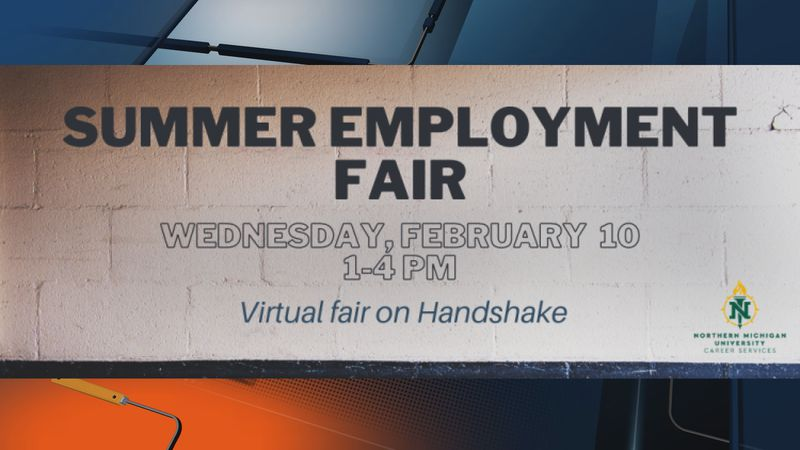 NMU Career Services puts on the Summer Employment Fair every year for students and alumni.