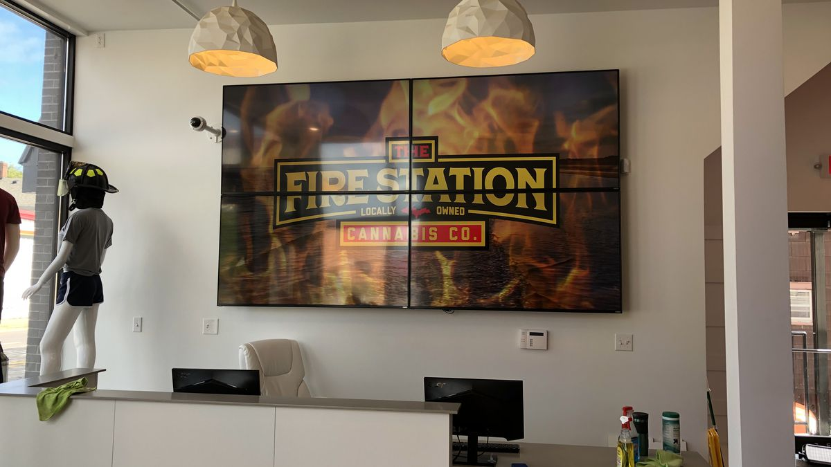 The Fire Station is the first cannabis store to open in Marquette.