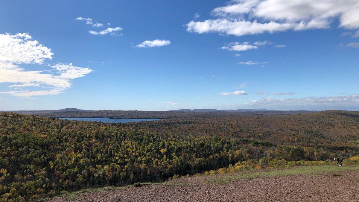 Brockway Mountain on Oct. 14, 2021.