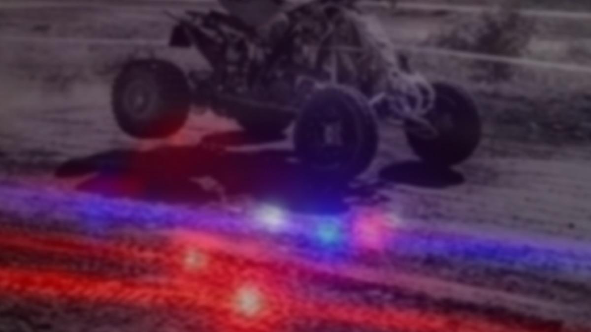 ATV crash graphic.