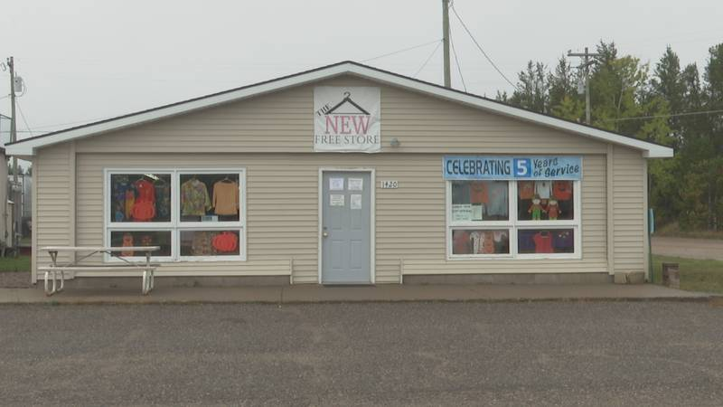 The New Free Store in Harvey