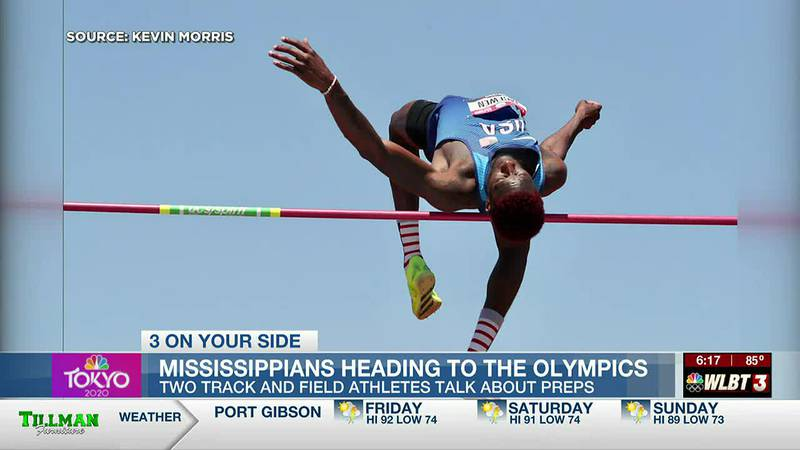 Mississippi natives ready to compete in Tokyo Olympics