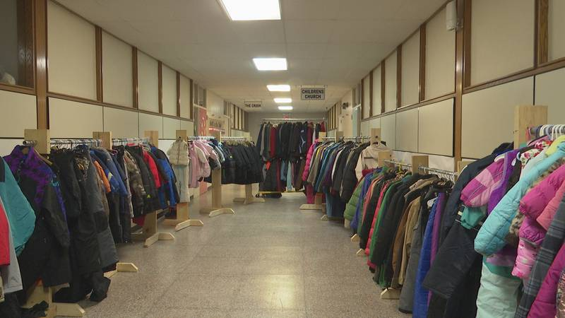 Silver Creek Church and its thrift store are preparing to give out hundreds of winter clothing...
