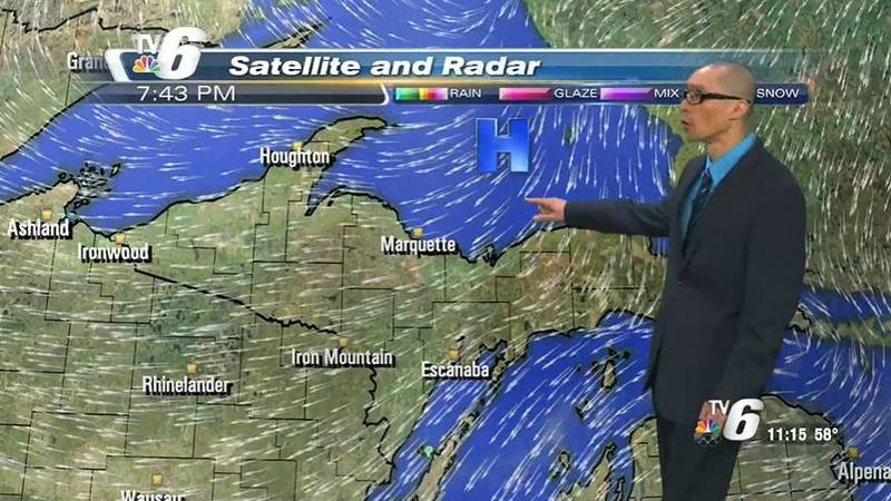 High pressure holds off rain chances, keeps temps warm and breezes on the lighter side for...