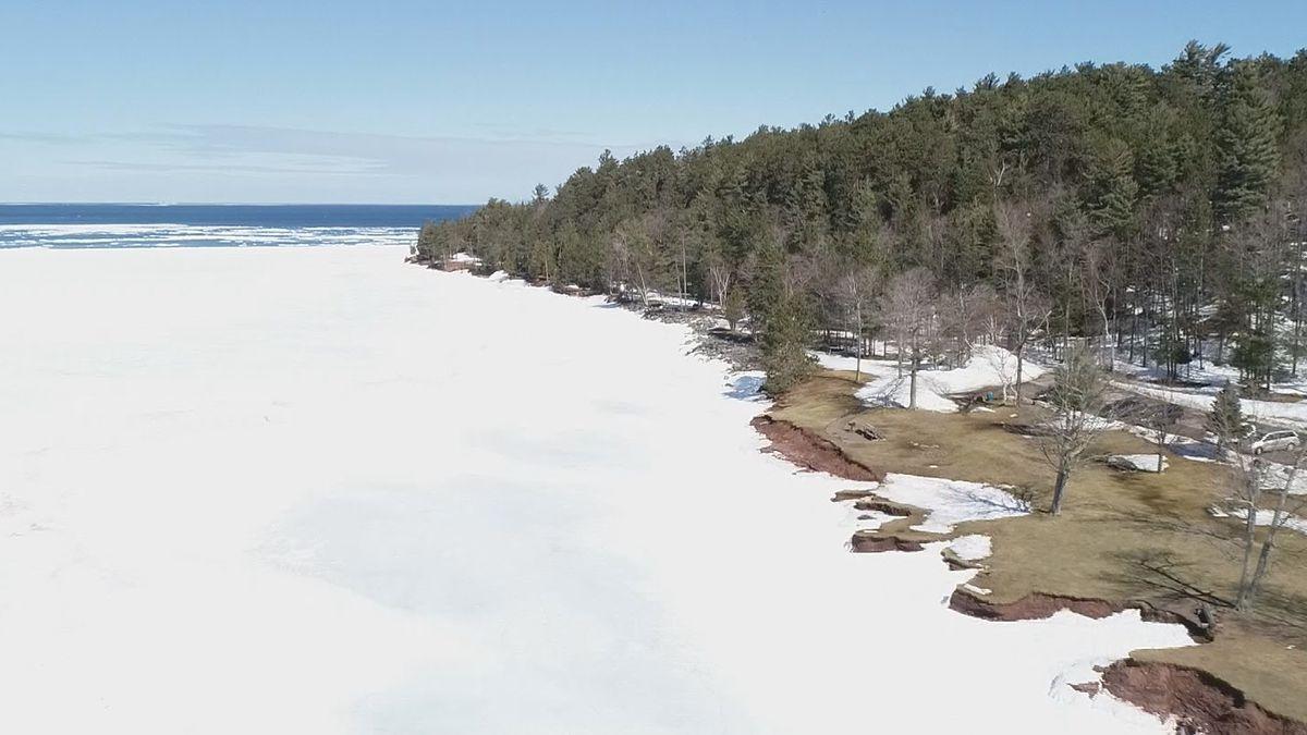 File image of Lake Superior in Marquette.