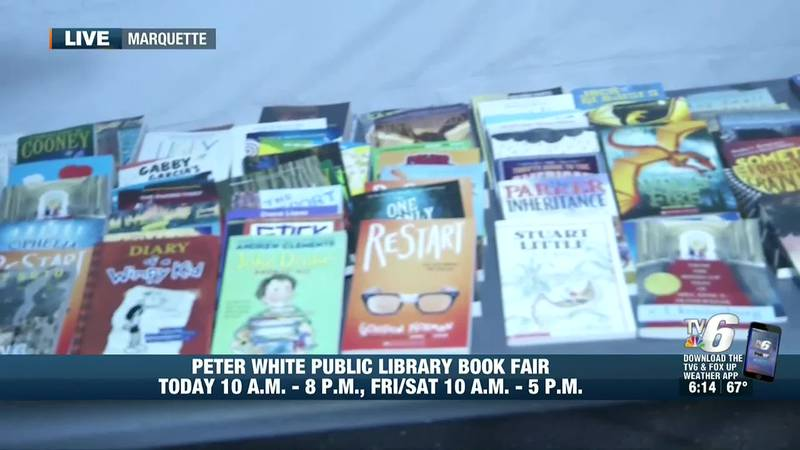 Kids who participated in the library's Summer Reading Program can choose three free books now...