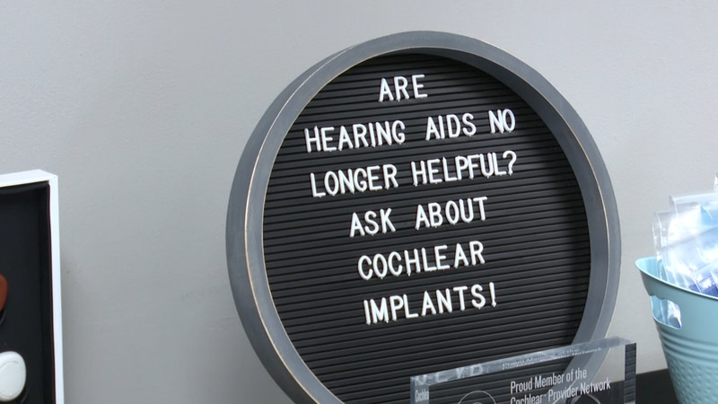 The implants are designed to increase hearing capability in those with severe hearing loss.