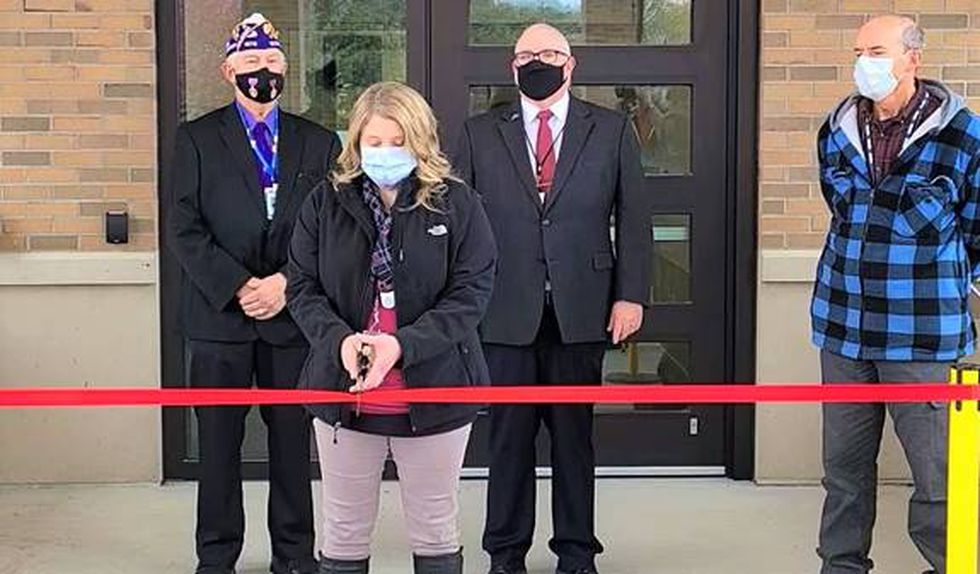 The Oscar G. Johnson VA Medical Center recently opened a new addition to their Community Living...