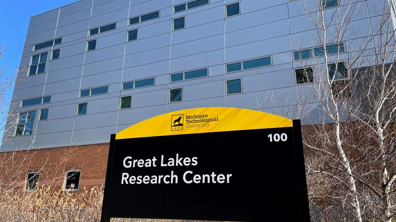 The Great Lakes Research Center is located right on MTU's campus.