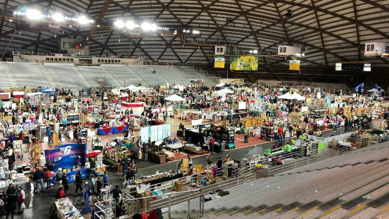A TV6 Craft Show in the Superior Dome