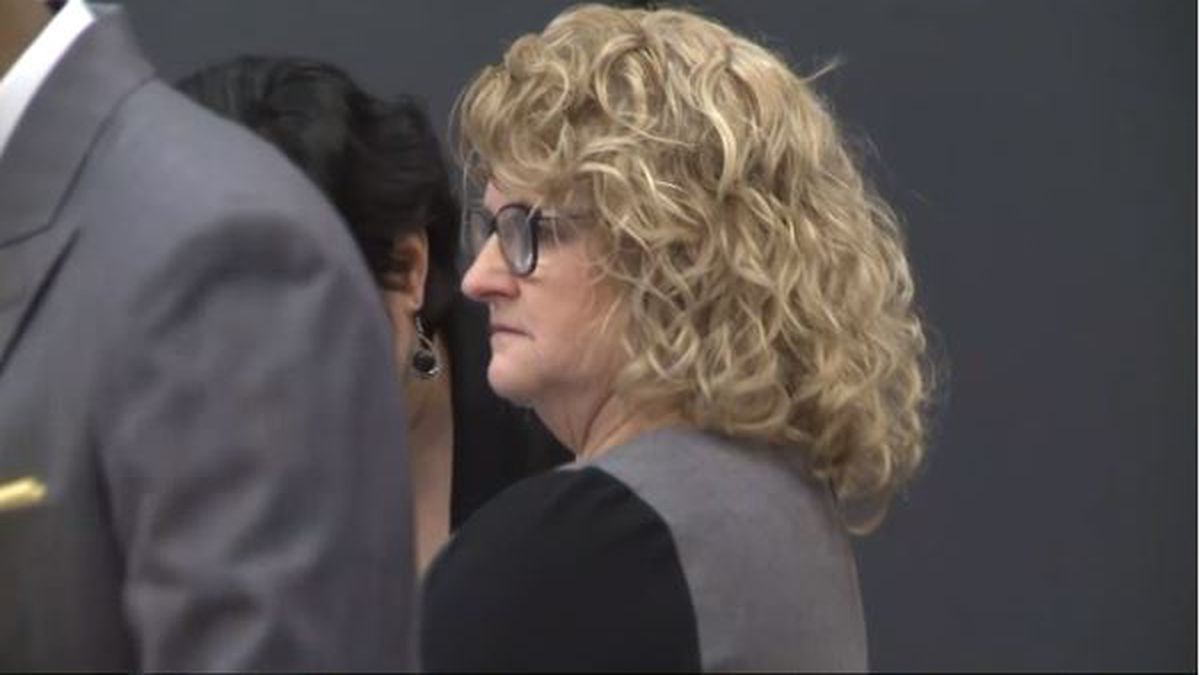 A photo from the Kathie Klages trial. (WILX)