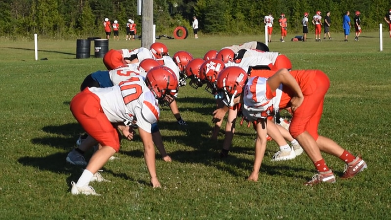 Powers North Central gets back to practicing ahead of 2021 football season.
