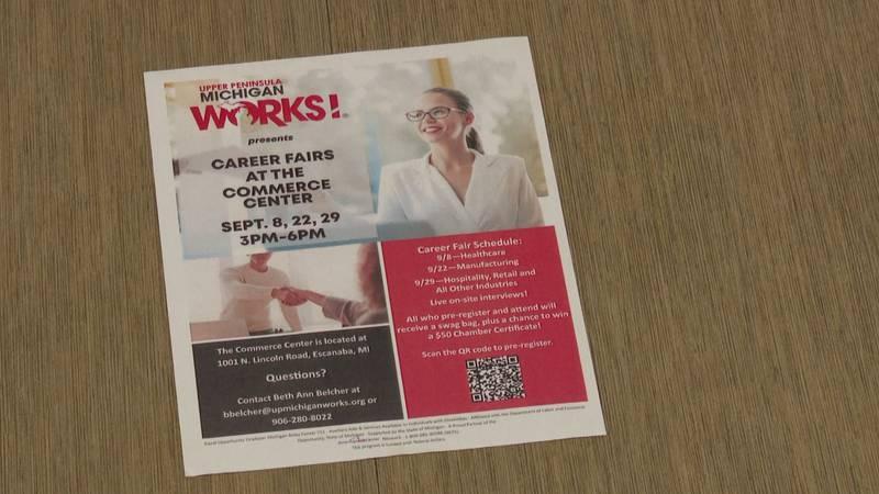 Upper Michigan Works poster.