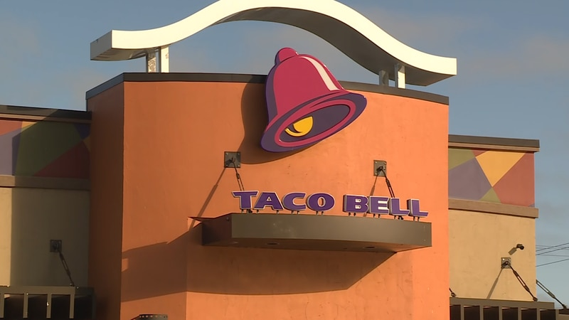 The Taco Bell Restaurant in Marquette Township