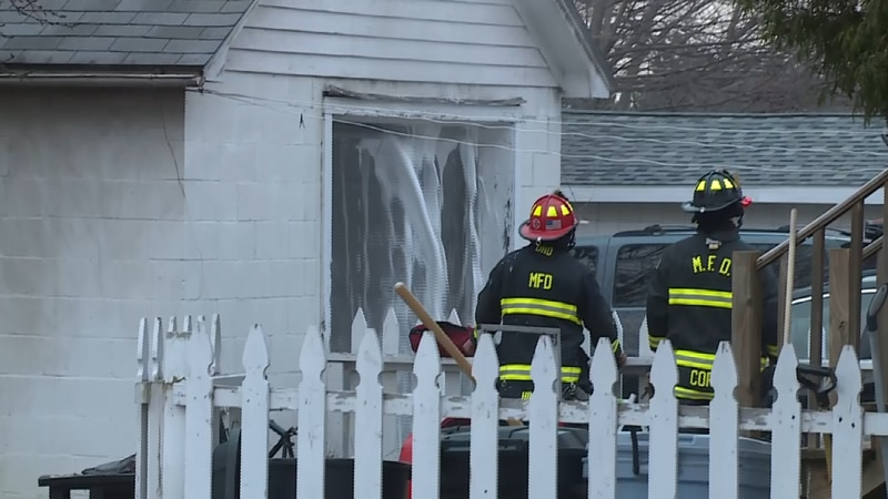 Marquette Fire Department responds to garage fire sending one person to the hospital for...