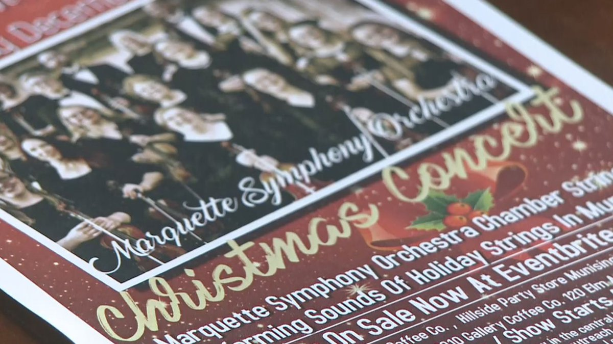 This Saturday, the 12-member orchestra, from the Marquette Symphony Orchestra, will perform...