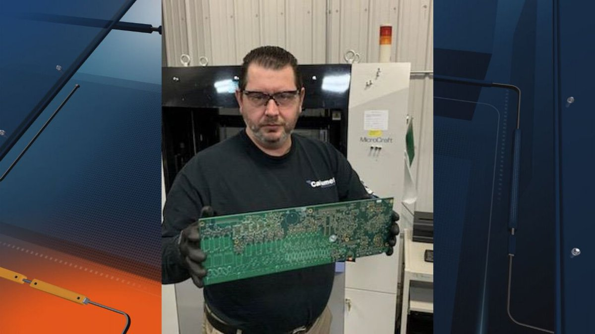 COO Todd Brassard is leading manufacturing efforts to ensure Calumet<br />Electronics can rush...