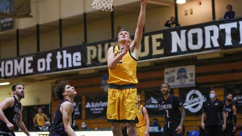 Michigan Tech men's basketball falls to Ashland in the GLIAC Tournament championship game.