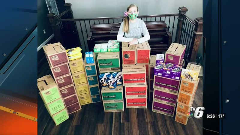 4th grader Ava Schoonveld says she's planning on giving her earned prize to someone less...
