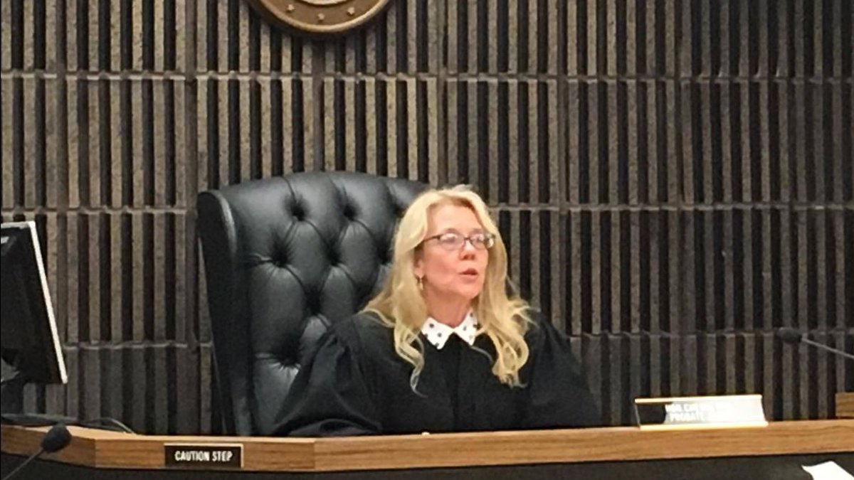 Judge Cheryl Hill of Marquette County Probate Court.