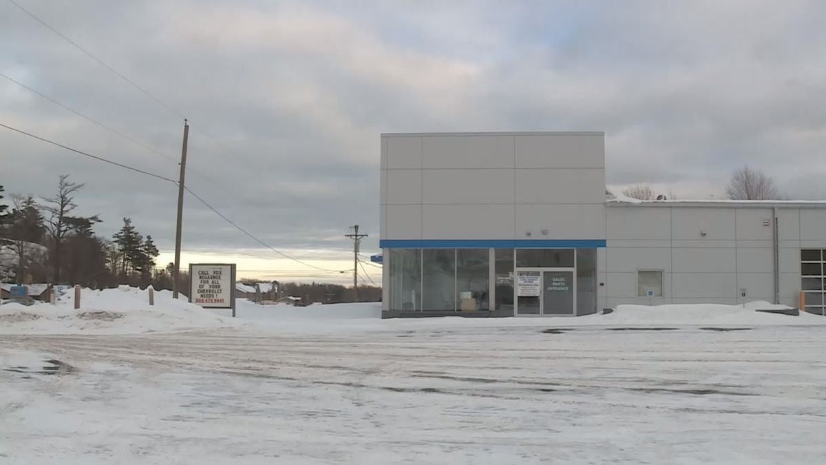 Fox Motors is opening a new Chevrolet dealership in the former Frei Chevrolet building on US-41 in Marquette Township (WLUC image).