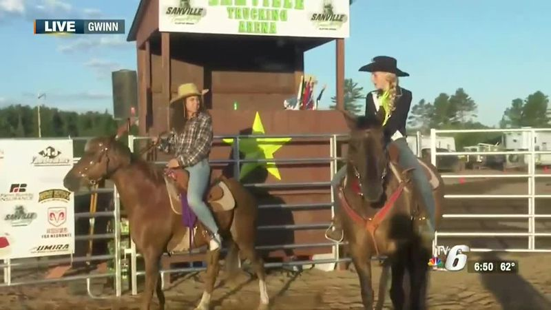 The Great Lakes Rodeo is taking place this weekend in Gwinn.