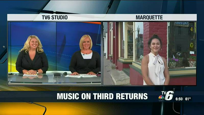 Music on Third returns to Marquette- happening every third Thursday of the month through the...
