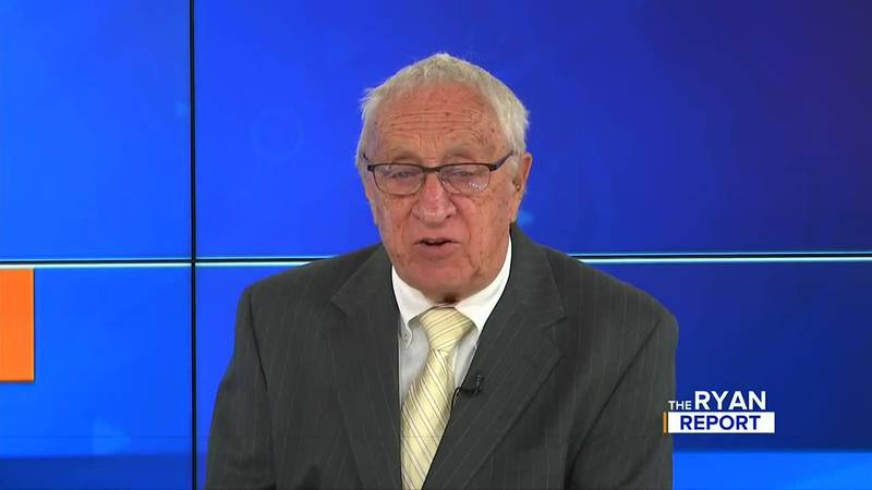 TV6's Don Ryan on the Sept. 12, 2021 episode of The Ryan Report.