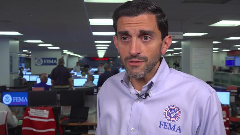 FEMA's David Bibo discusses emergency preparedness ahead of Hurricane Dorian. (Source: Gray DC)