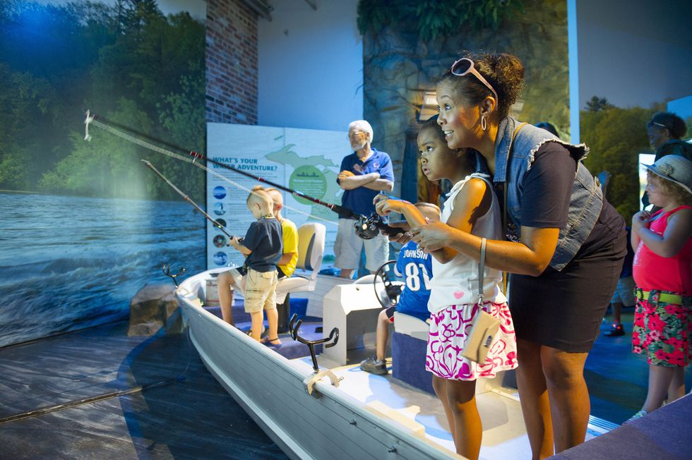 The Outdoor Adventure Center – housed in the historic Globe Building, acquired with a trust...