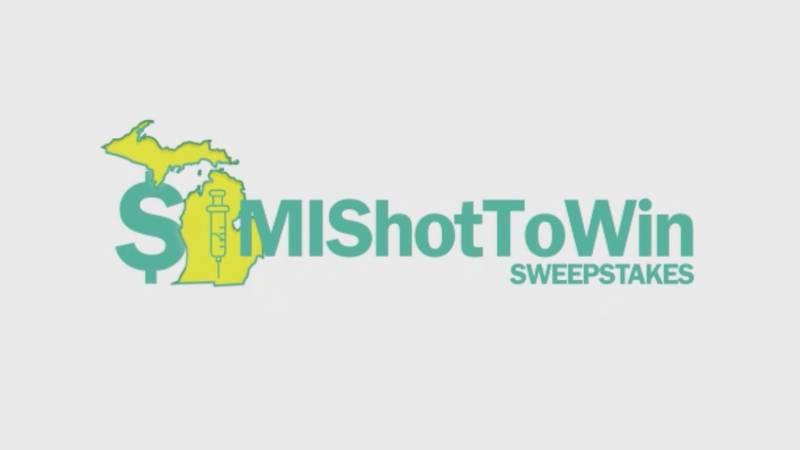 MI Shot to Win Sweepstakes logo.
