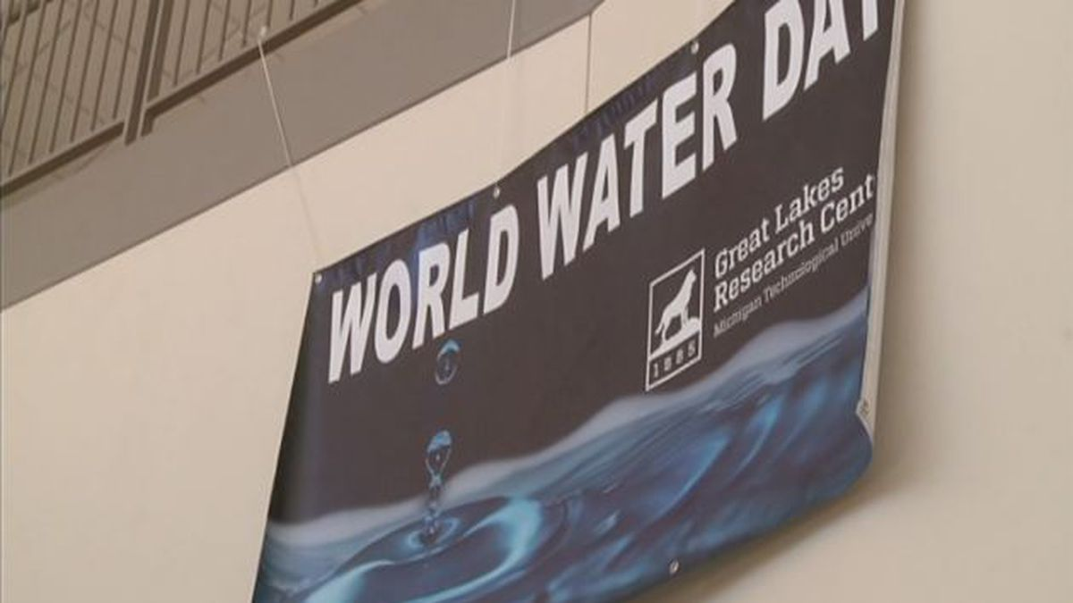 Michigan Technological University is celebrating World Water Day, March 22, with events all...
