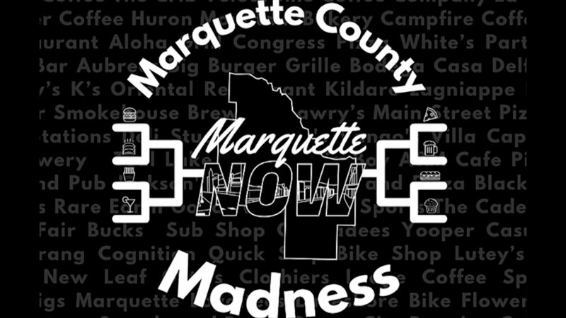 MarquetteNow Marquette County Madness bracket image.