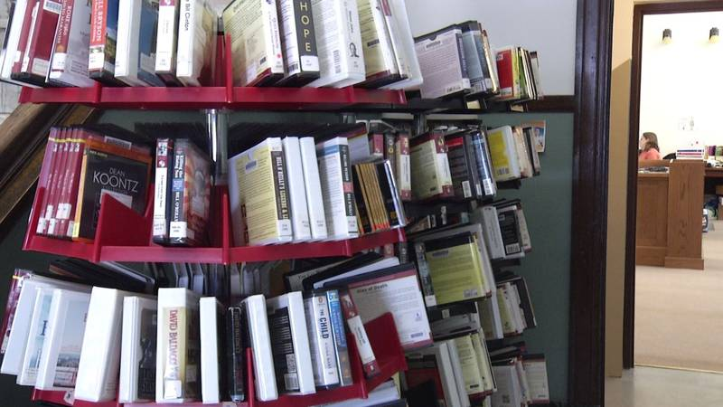 FILE. Some books inside the Negaunee Public Library.