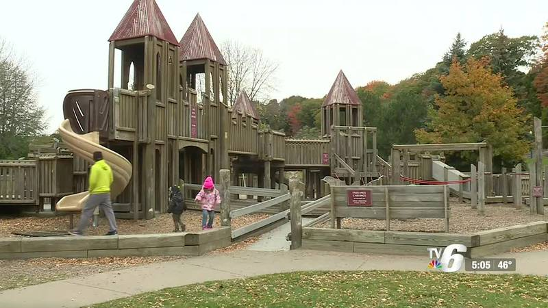 Shiras Institute makes donation to Kids Cove Playground in Marquette