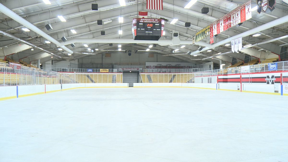 FILE. The ice rink at Lakeview Arena in Marquette.