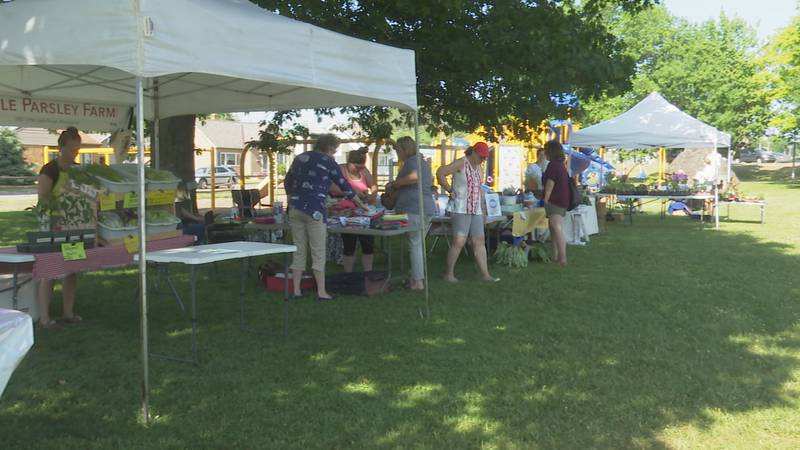 The Negaunee Market will run every Wednesday from 4:00 p.m. to 7:00 p.m. in Miners Park.