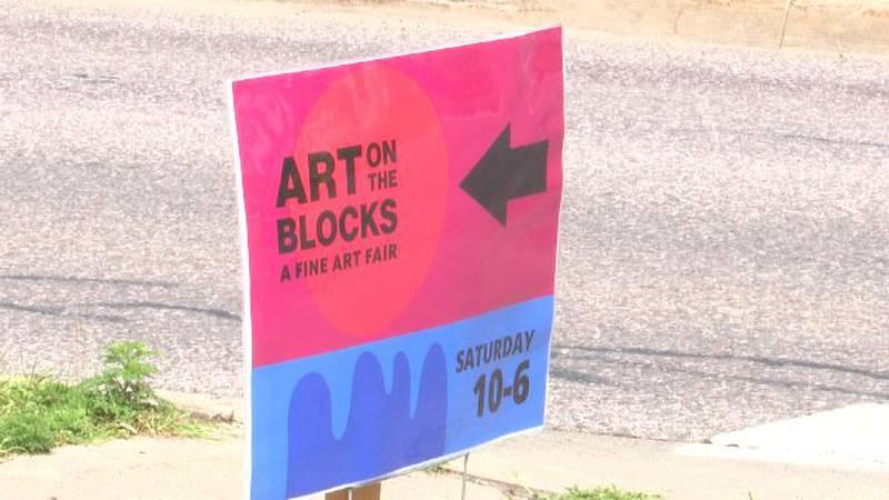 Art on the Blocks festival in Marquette