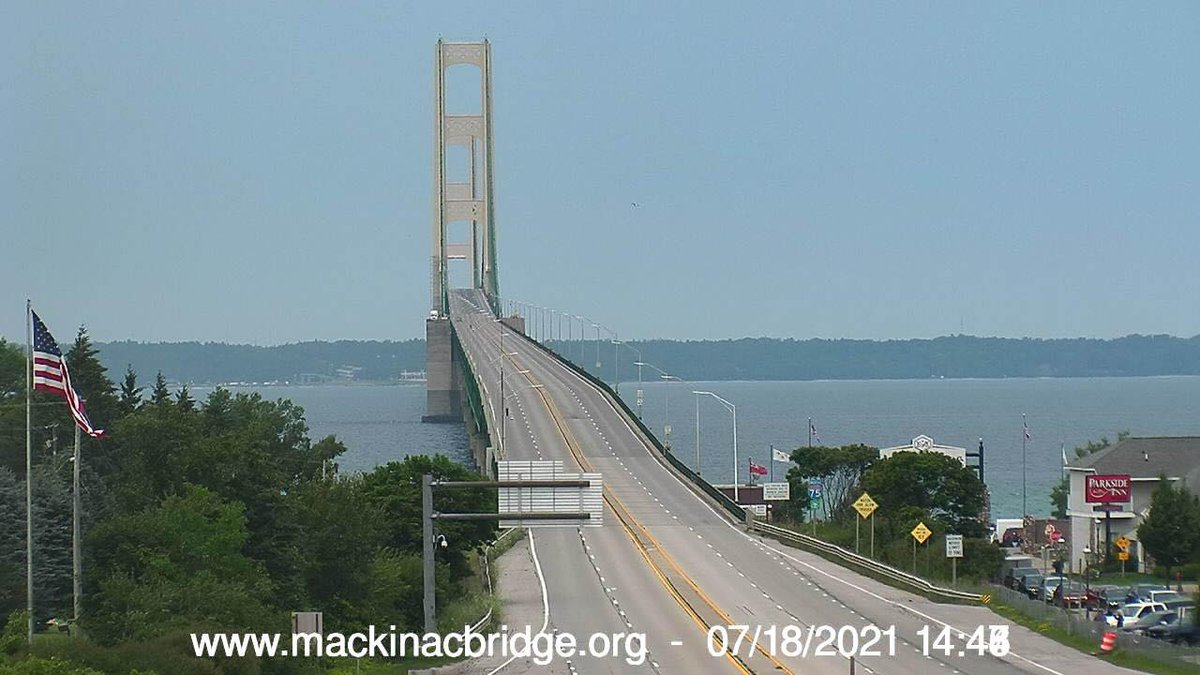 Bridge conditions as of 2:45 pm