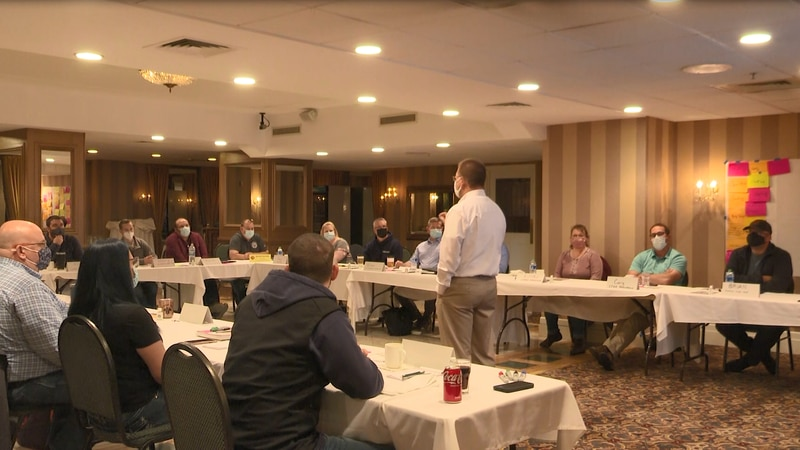Over two dozen EMS personnel take part in 60-day course to improve their skills